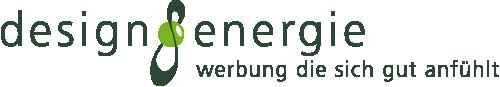 Logo der designenergie Werbeagentur